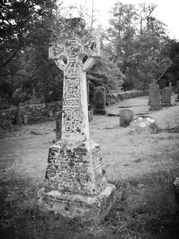 kirkmichael headstone not family
