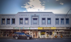 Facade, Masson House, Napier, NZ. Image: Su Leslie 2018