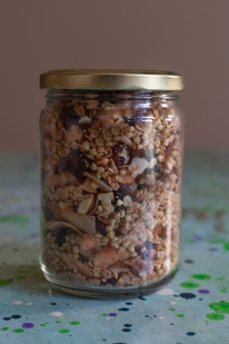 Buckwheat granola. A new discovery, easy to make and very tasty. Image: Su Leslie 2019