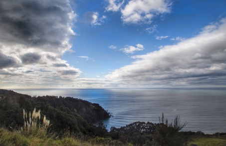 The Pacific Ocean from Ohope Lookout, BoP, NZ. Image: Su Leslie 2019
