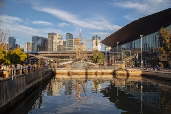The 'Polly Woodside', South Wharf, Melbourne. Image: Su Leslie 2019