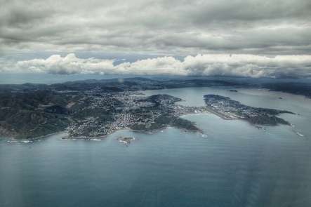 Leaving Wellington, NZ. Image: Su Leslie